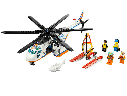 Lego Coast Guard Helicopter #2
