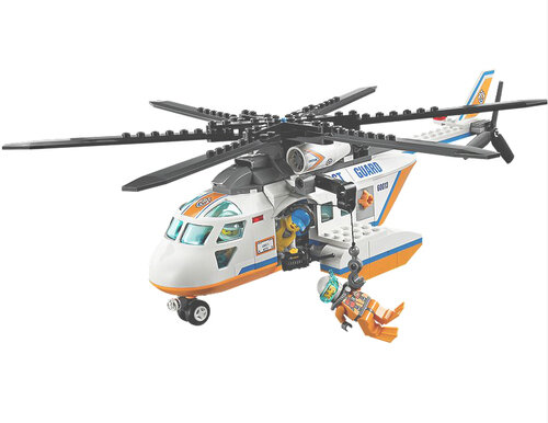 Lego Coast Guard Helicopter #3