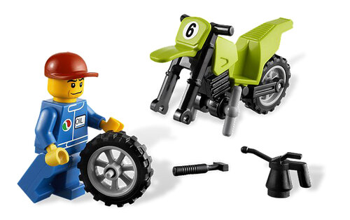 Lego Dirt Bike Transporter #5