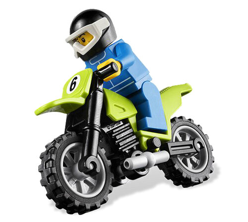 Lego Dirt Bike Transporter #6