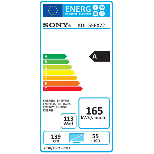 Sony KDL-55EX721 - 5