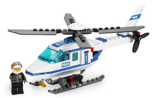 Lego Police Helicopter #2