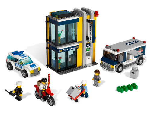 Lego Bank & Money Transfer #2