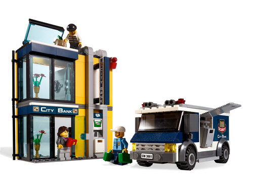 Lego Bank & Money Transfer #4