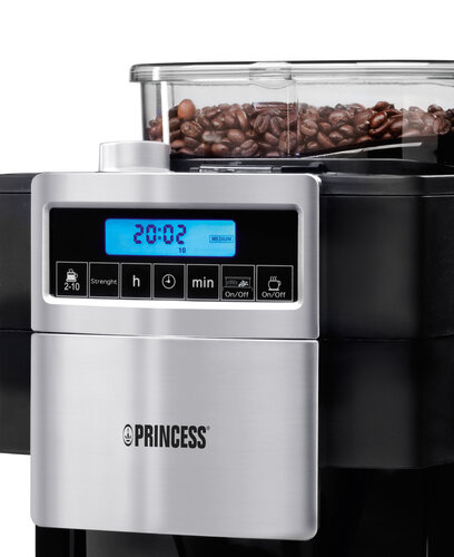 Princess Coffee Maker & Grinder Deluxe 249402 #4