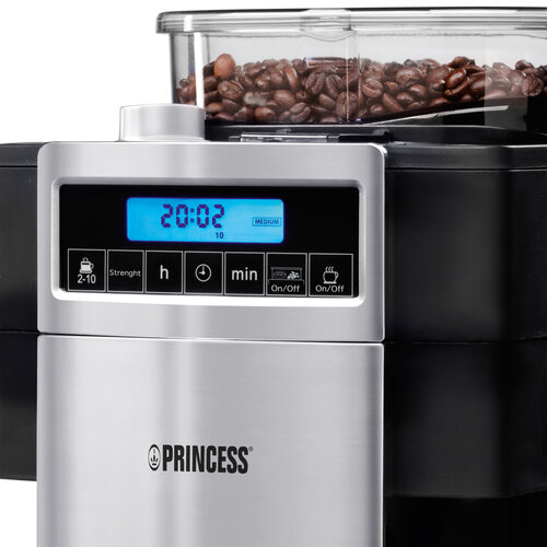 Princess Coffee Maker & Grinder Deluxe 249402 #5