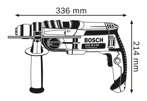 Bosch GSB 19-2 RE Professional #2