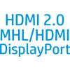 Com Display Port, HDMI MHL e HDMI 2.0, obterá todas as portas de que precisa para conectar facilmente o seu dispositivo ...