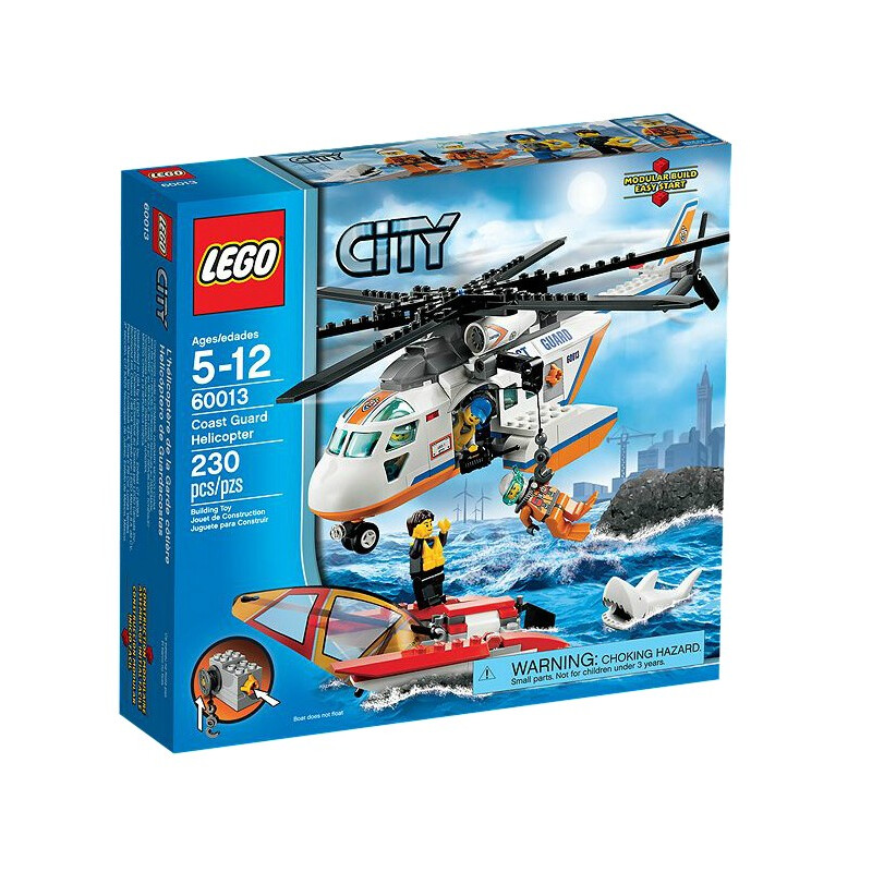 Lego Coast Guard Helicopter #1