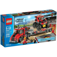 Lego Monster Truck Transporter