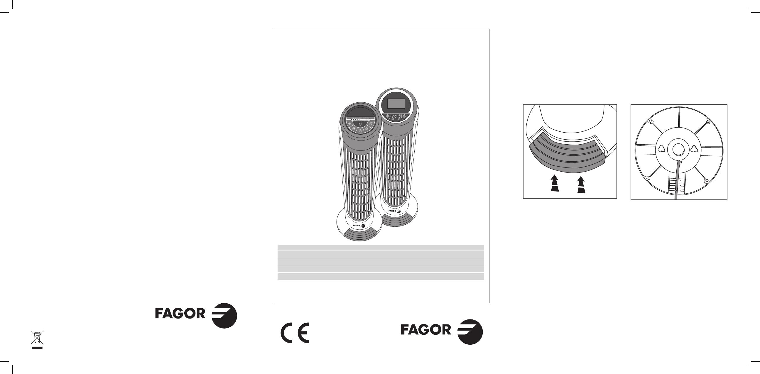 Manual de Instruções FAGOR IF-800R - Guia de utilizaçao ...